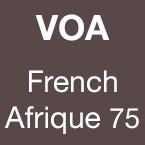 VOA French Afrique 75